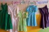 šaty do teněčních 70. léta